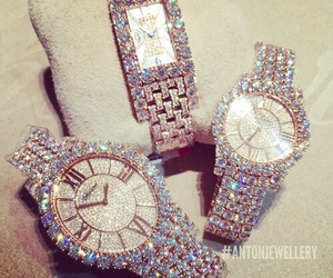 watch and diamond image