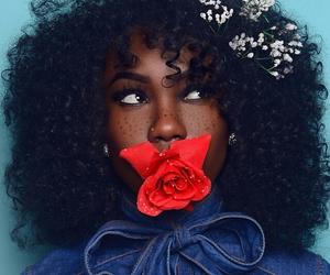 beauty, makeup, and black women image
