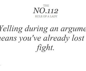 argument, fight, and lady image