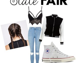 fasion, Polyvore, and State Fair image