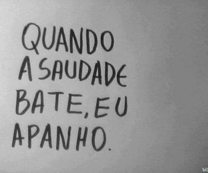 quote, saudade, and text image