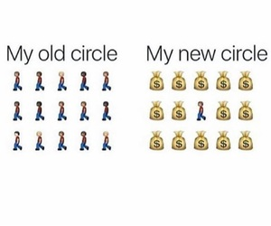 circle, friends, and money image