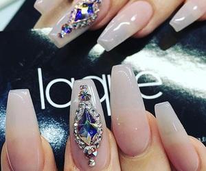 acrylics, claws, and nail polish image