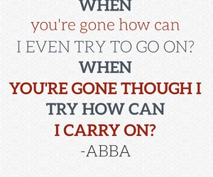 Abba, amazing, and easel image