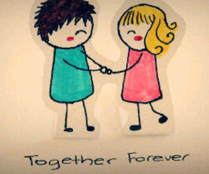 forever, love, and together image