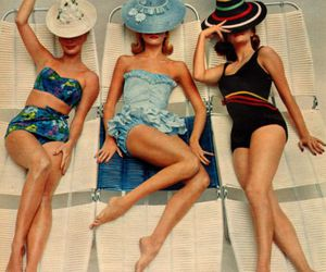 vintage, summer, and beach image