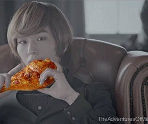 Chicken, Onew, and SHINee image
