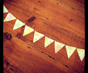 easter and bunting image