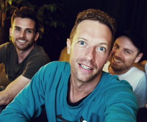 chris, will, and coldplay image