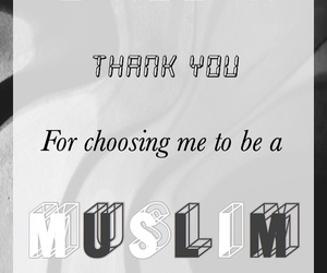 muslim, thankyou, and islamic quote image