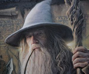 gandalf, LOTR, and tolkien image