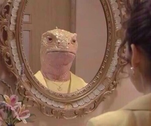 mirror, funny, and grunge image