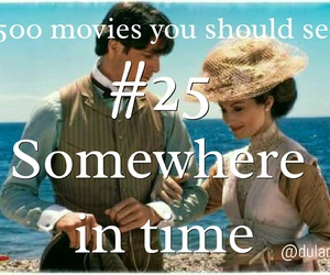movie, Somewhere in Time, and love image