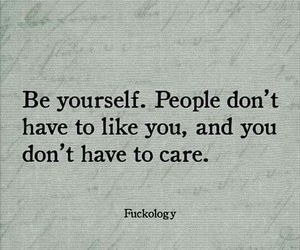 be yourself, like, and people image