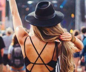 festival, coachella, and hair image