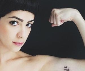 feminist and tattoo image