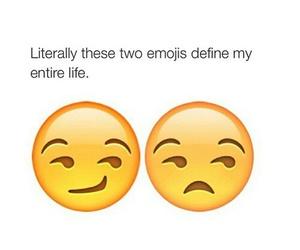 funny, emoji, and life image