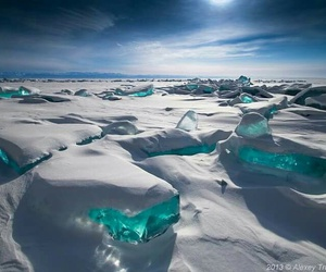 ice, seascape, and photography image