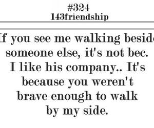 quote, friendship, and text image