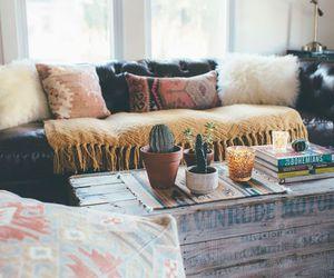 home, interior, and boho image