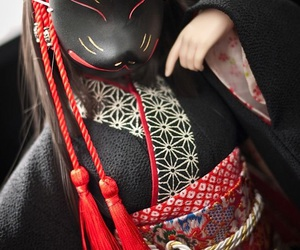 japan, kitsune, and fox image