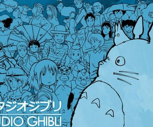 studio ghibli, totoro, and anime image