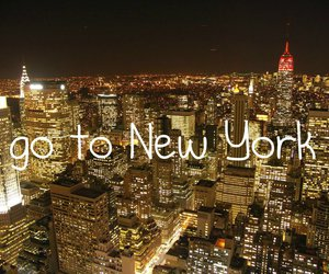 bright, buildings, and new york image