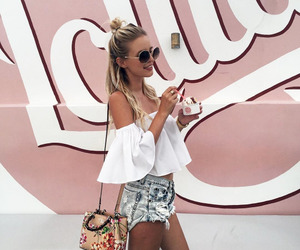 fashion, handbag, and sunglasses image