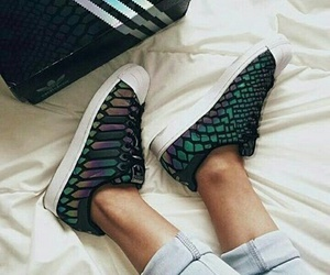 adidas, girl, and shoes image