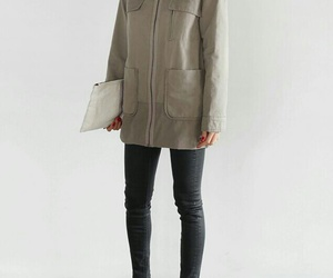 fashion, grey, and outlook image