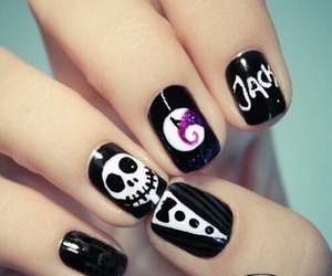 nails, Halloween, and jack image