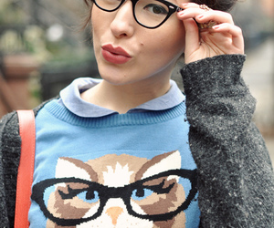 glasses and fashion image