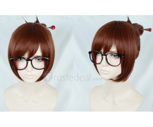 halloween cosplay ideas, video game cosplay, and overwatch mei cosplay wig image