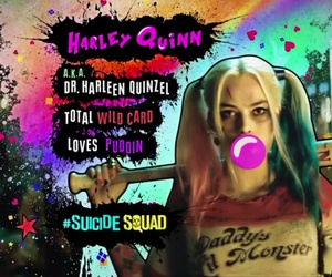 suicide squad and harley quinn image