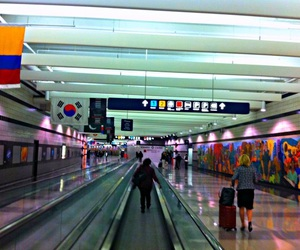 aesthetic, airport, and chicago image