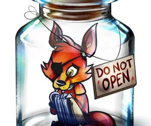foxy, do not open, and cute image