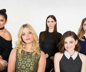 pretty little liars, lucy hale, and ashley benson image