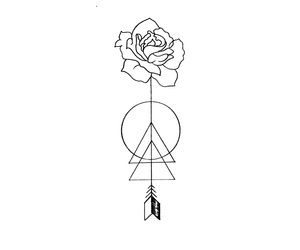 rose and arrow image