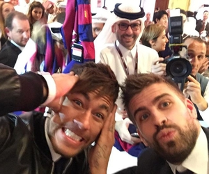 gerard piqué and neymar image