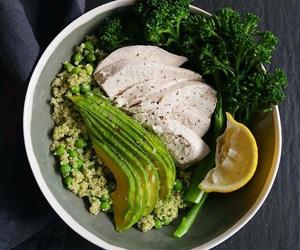 avocado, broccoli, and healthy image