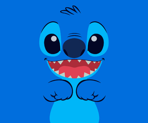 stitch, blue, and disney image
