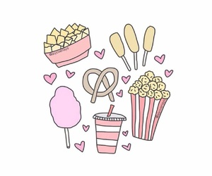 overlay, food, and cotton candy image