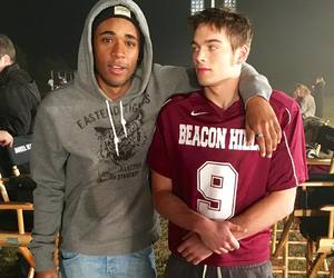 teen wolf, dylan sprayberry, and khylin rhambo image