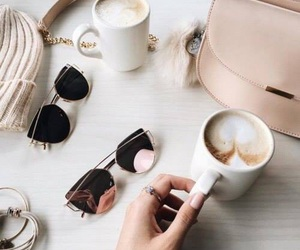background, beige, and coffee image