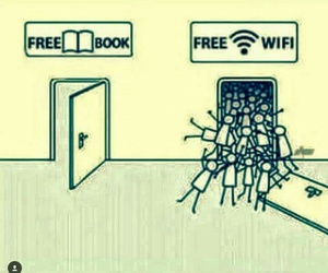 book, free, and wifi image