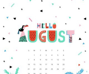 August, love, and birthday image