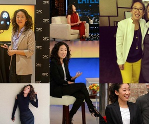 sandra oh and grey's anatomy image
