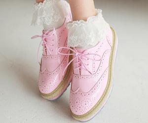 gyaru, pink, and shoes image