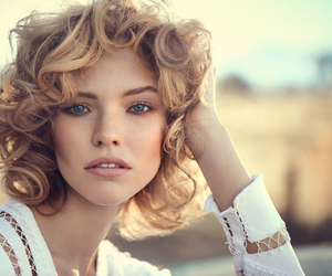 curly, model, and hair image