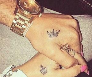 tatoo hands nail image